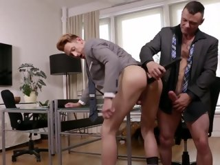 Emerson Palmer Gives Up His Ass To Sergeant Miles LVP252 04 Gentlemen 17 Oral Office scene 4