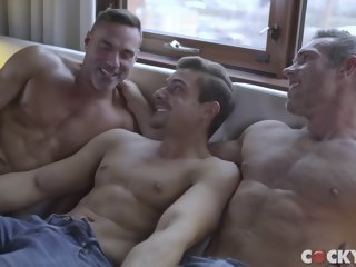 Manuel Skye, Alex Mecum & Carter Dane