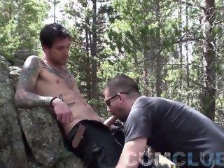 Mountain fellow cum Swallowing