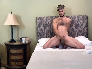 Military Role Having Fun With Donte Thick