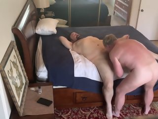 Daddy Gets Fucked Pt 1