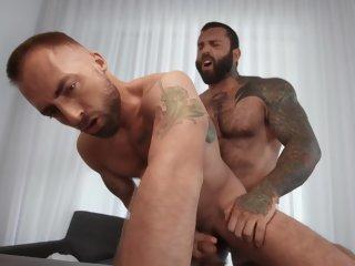 American Jeremy London & Markus Kage Blowjobs